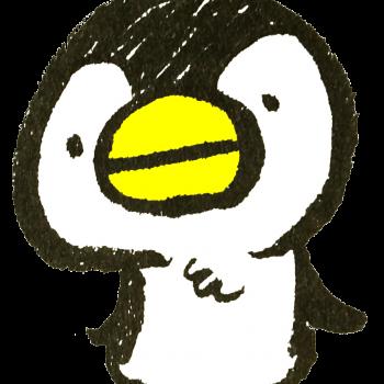 比較的ベーシックなペンギンのイラスト