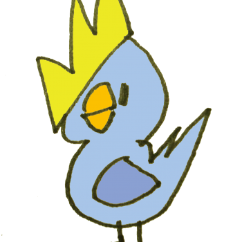 鳥の王子様のイラスト