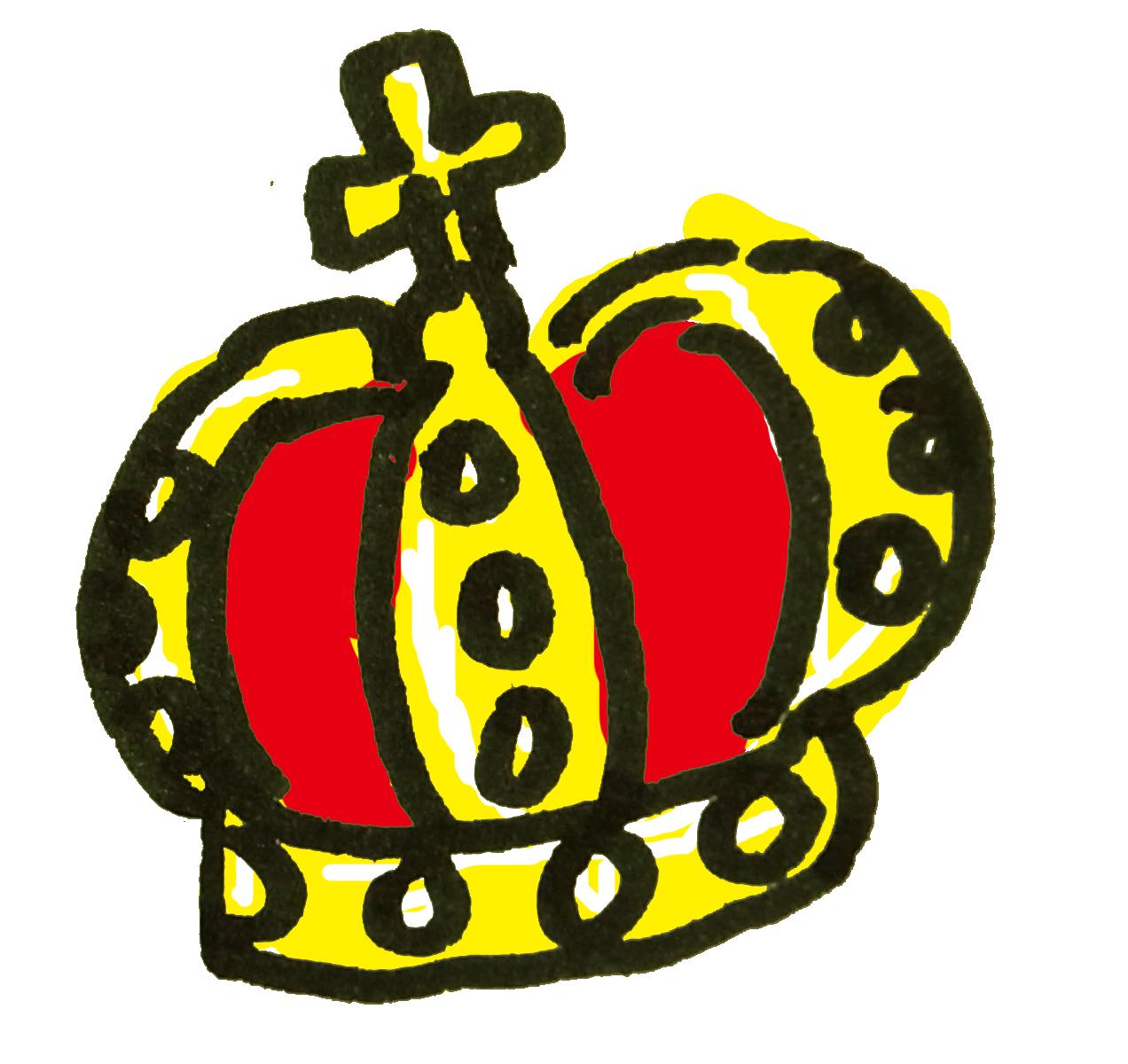 王冠のアイコンのイラスト ゆるくてかわいい無料イラスト素材屋