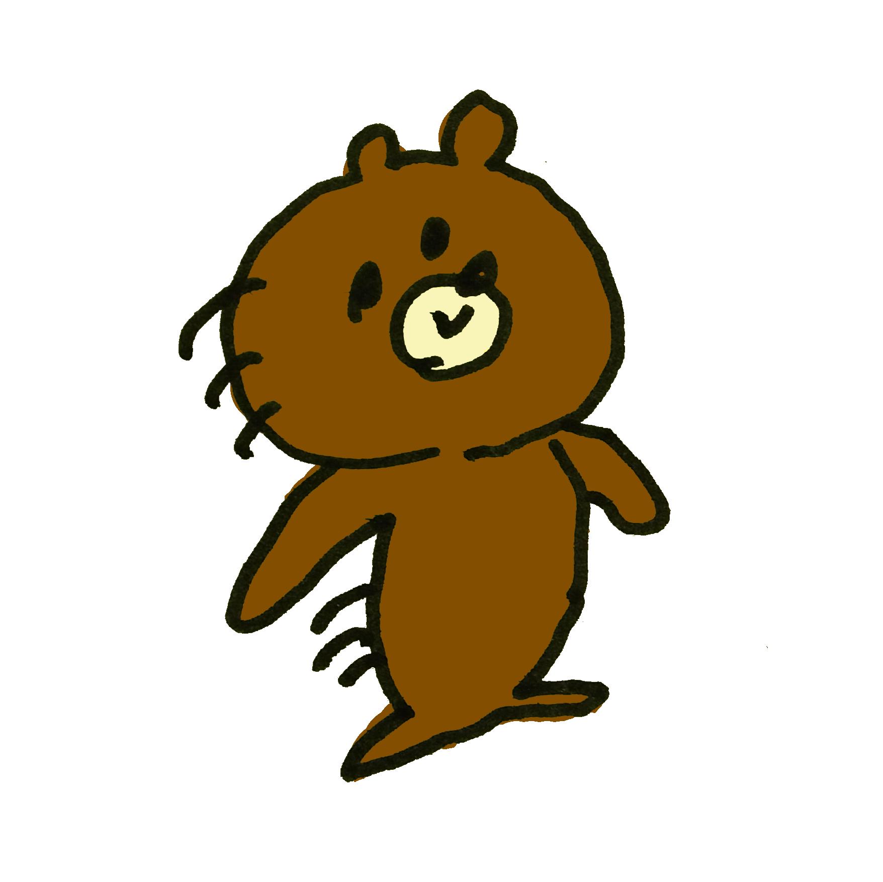 動きの早い熊