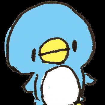 ふつうのペンギンのイラスト