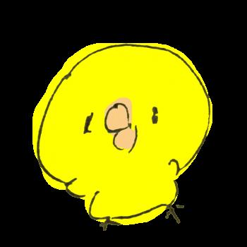 ひよこ【ボールペン】のイラスト