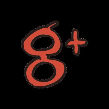 Google+風アイコンのイラスト