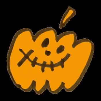 おばけかぼちゃのイラスト