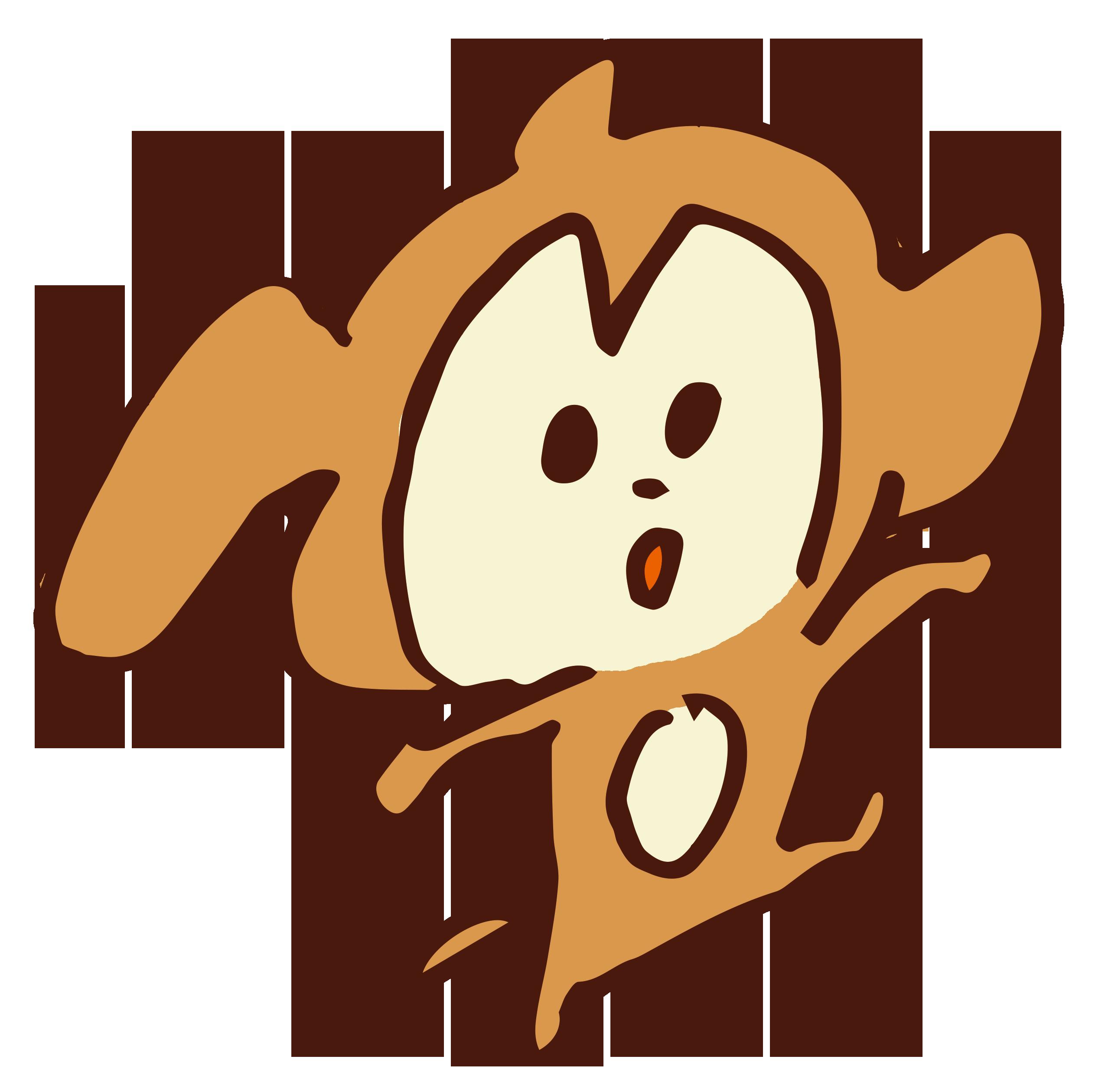 はしゃぐお猿さん