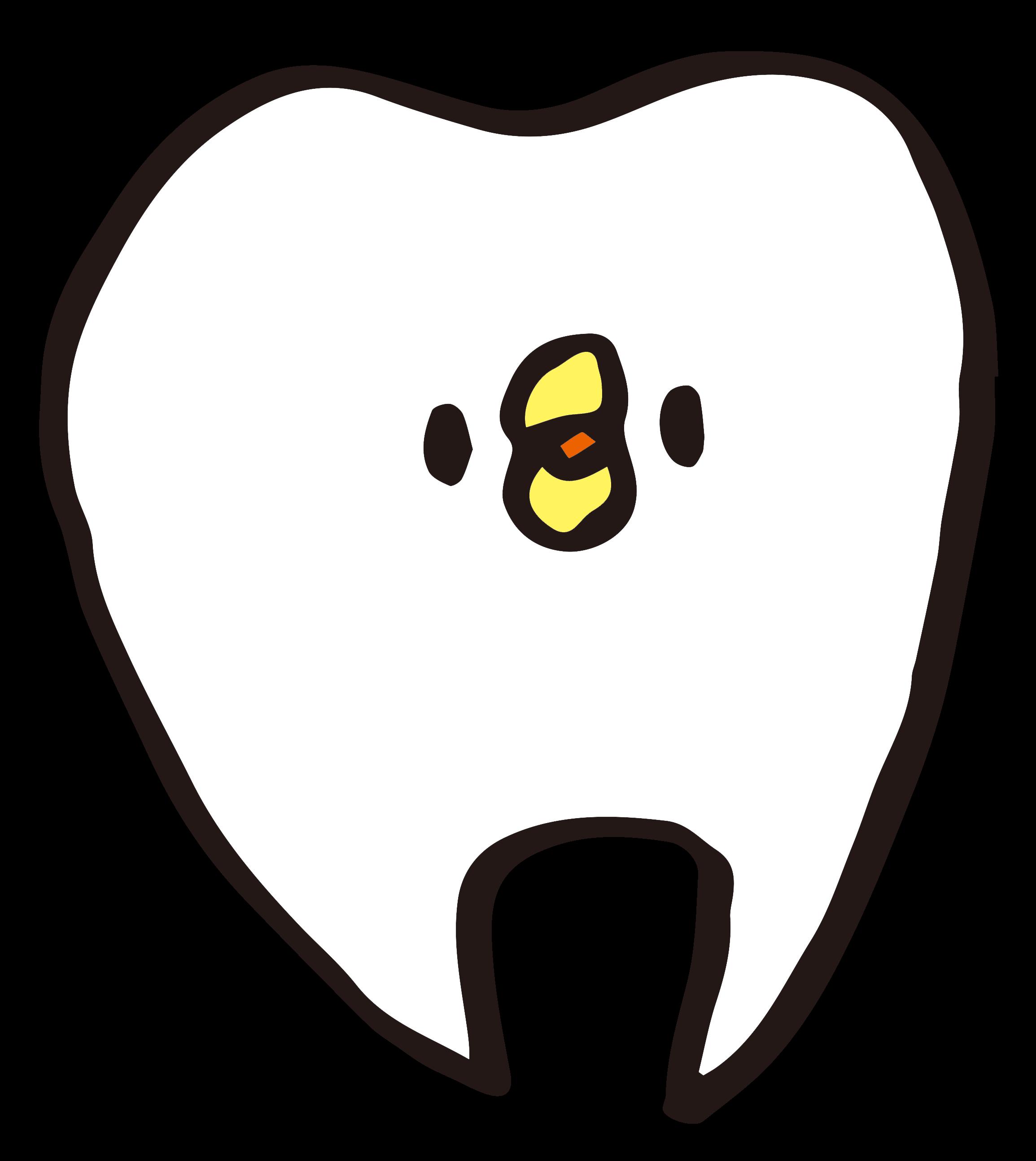 キレイな歯のイラスト ゆるくてかわいい無料イラスト素材屋ぴよたそ