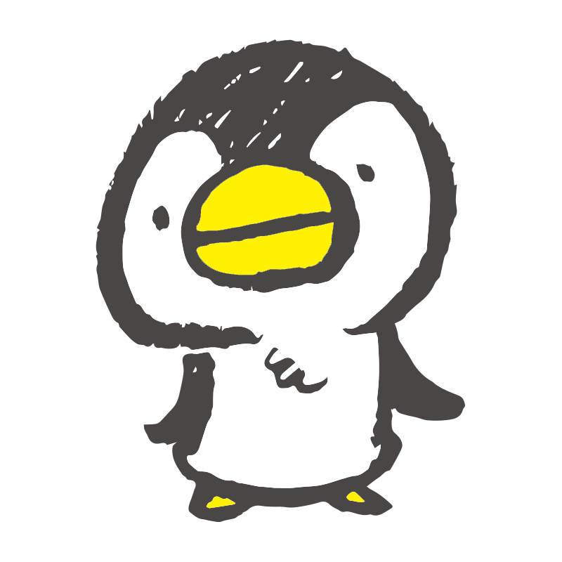 おどるペンギンgifアニメのイラスト ゆるくてかわいい無料イラスト