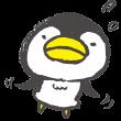 空を飛ぶペンギン