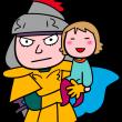 家族を守る戦士