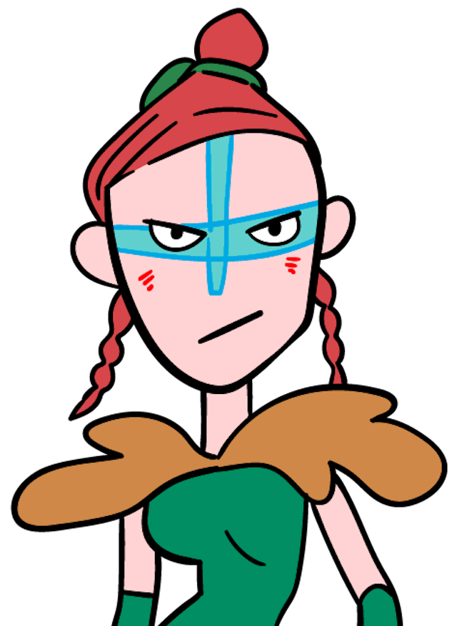 屈強な女戦士