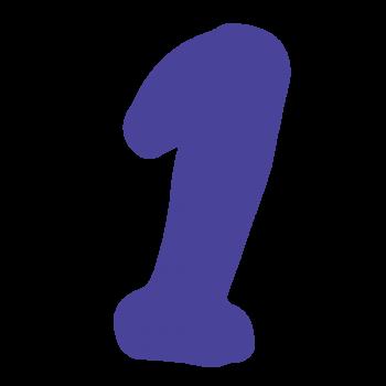 数字の「1」