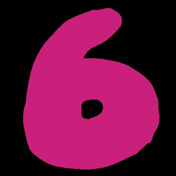 数字の「6」