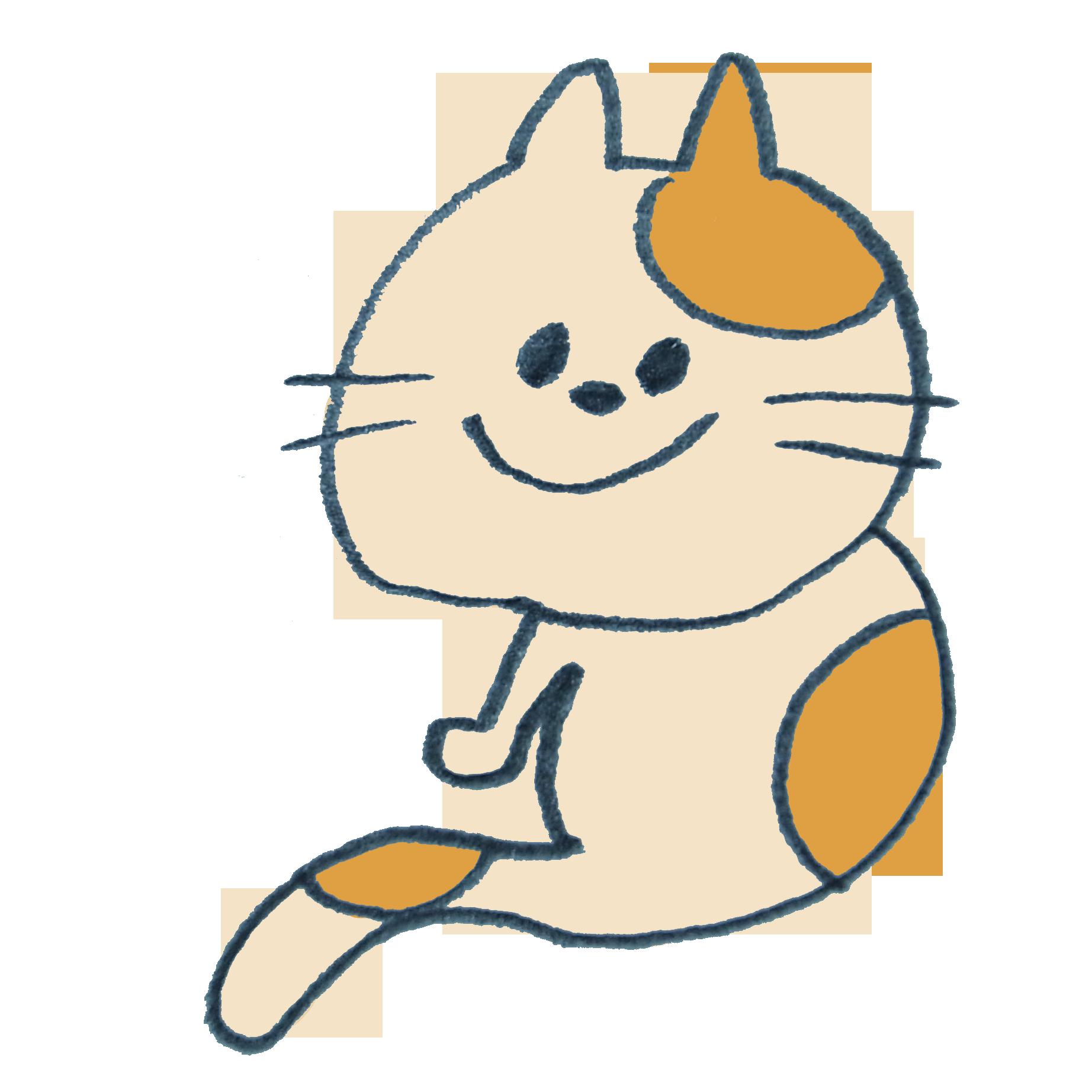 タマと名付けたくなる猫