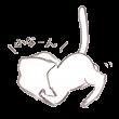 紙袋に顔をつっこむ猫
