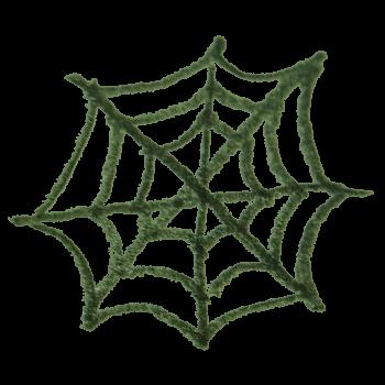 クモの巣のイラスト