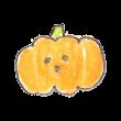 しょっぱい顔のおばけかぼちゃ