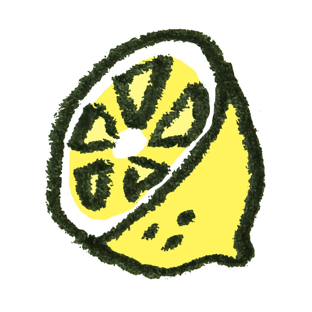 レモンのイラスト ゆるくてかわいい無料イラスト素材屋ぴよたそ