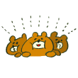 寄り添う熊