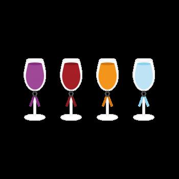 ワインのイラストセット