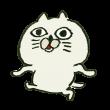 ムカつく顔の猫