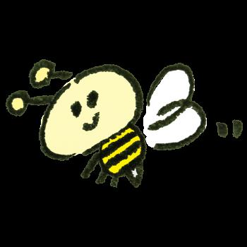 ミツバチさんのイラスト