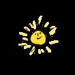 ごきげんな太陽