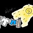 梅雨には貴重な洗濯日和