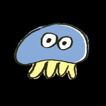 毒を持ってなさそうなクラゲ