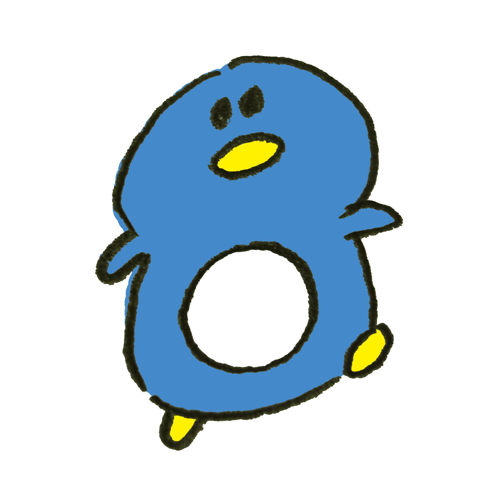 ペンギンのイラスト ゆるくてかわいい無料イラスト素材屋ぴよたそ