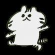 歩く虎模様の猫