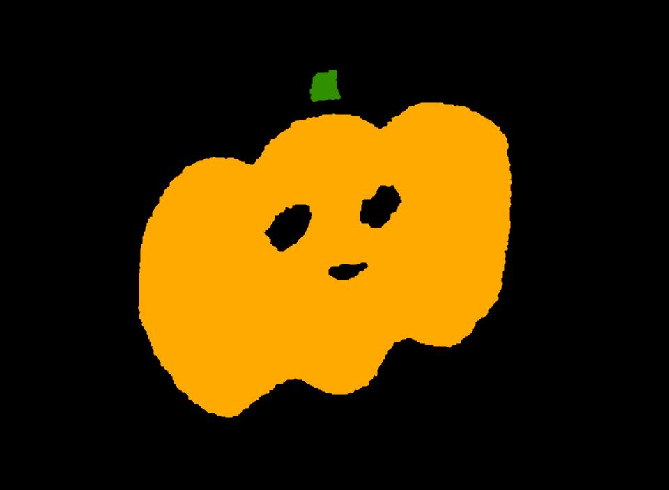 ハロウィンに使えそうなかぼちゃのイラスト