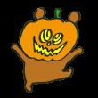 オバケかぼちゃをかぶったらモンスターに感情を奪われた熊