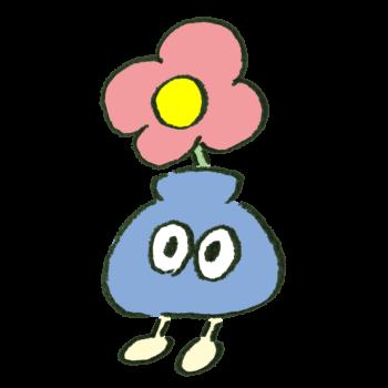 花瓶風のモンスターのイラスト