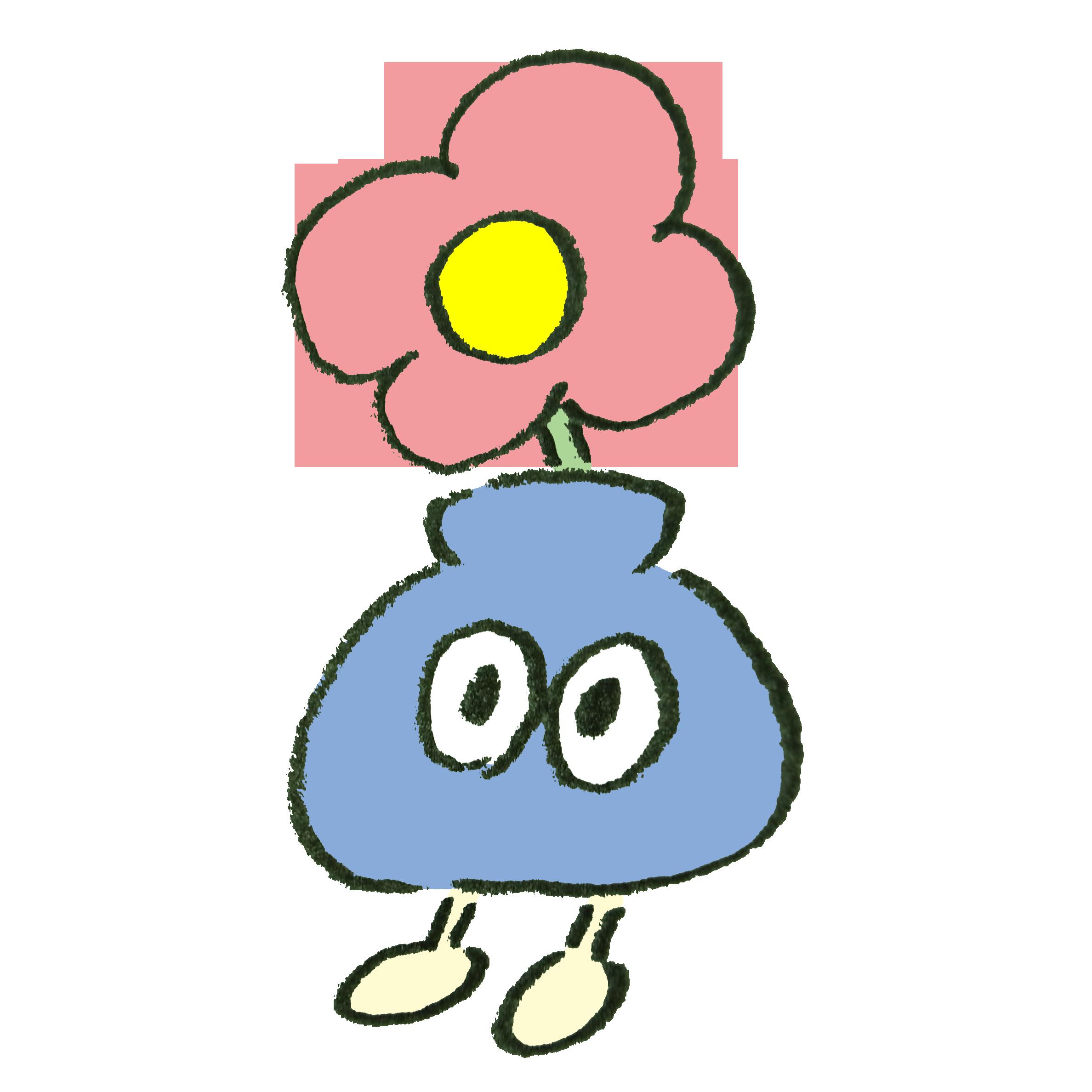 花瓶風のモンスター