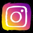 Instagram(インスタグラム)っぽいアイコンのイラスト