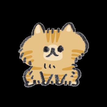 茶トラ模様の猫