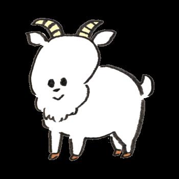 四本足で立つ紙を食べると言われる白い生き物