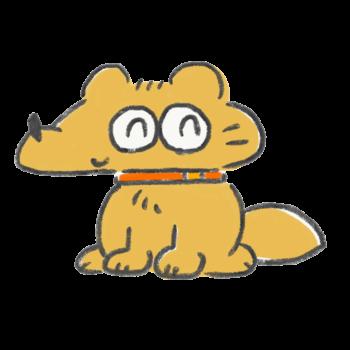 にっこり犬