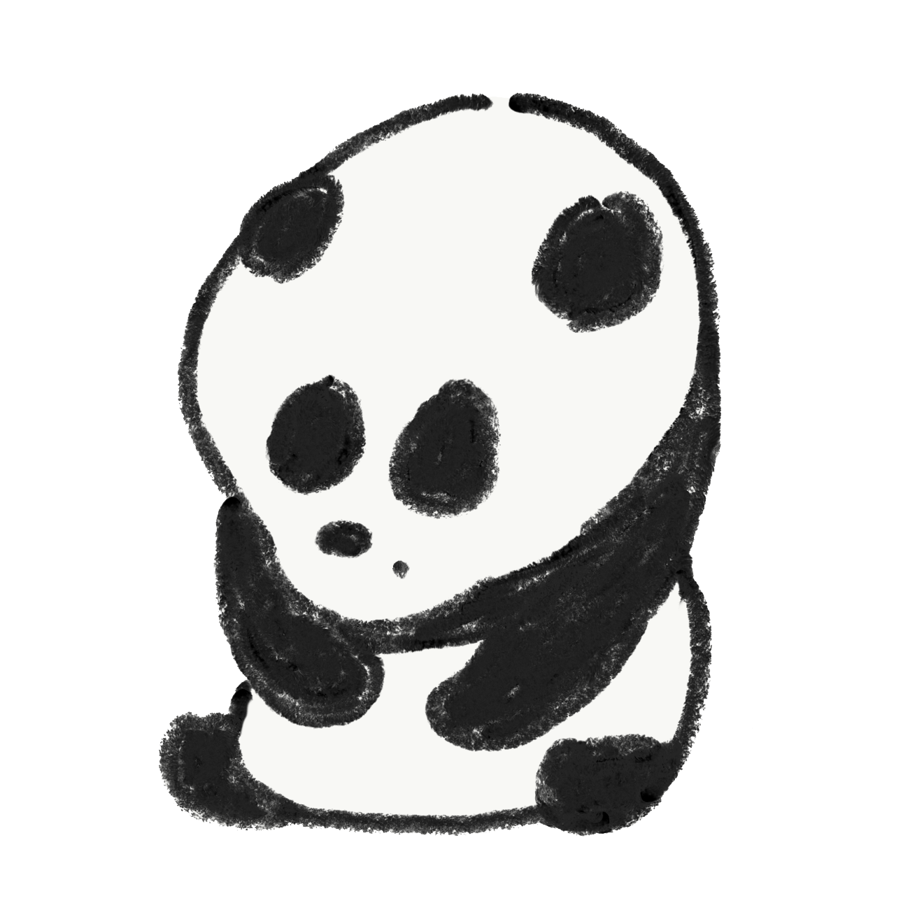 今すぐ葉っぱ(笹)をキメたいパンダ