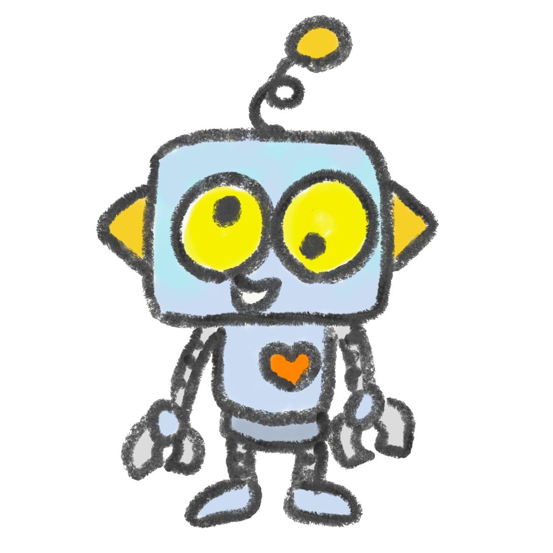 混乱しているロボット