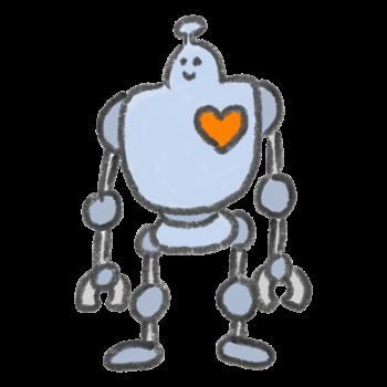 テクノロジーが進んだロボット