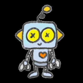 昔ながらのデザインのロボット