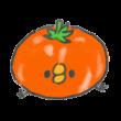 トマトに吸収されたひよこ