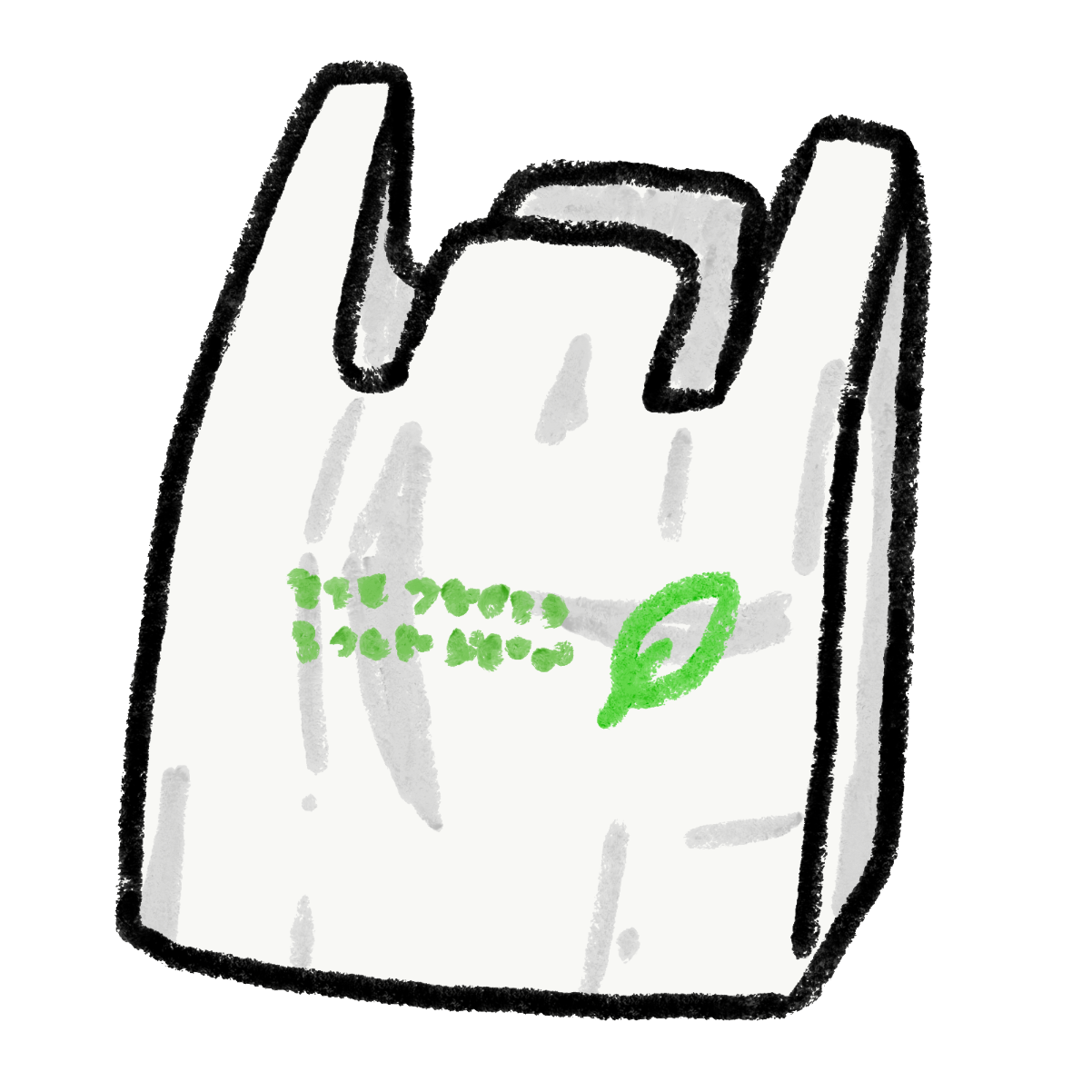 有料化されたビニール袋