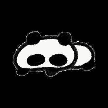 脱力するパンダ