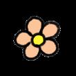 ピンクのお花