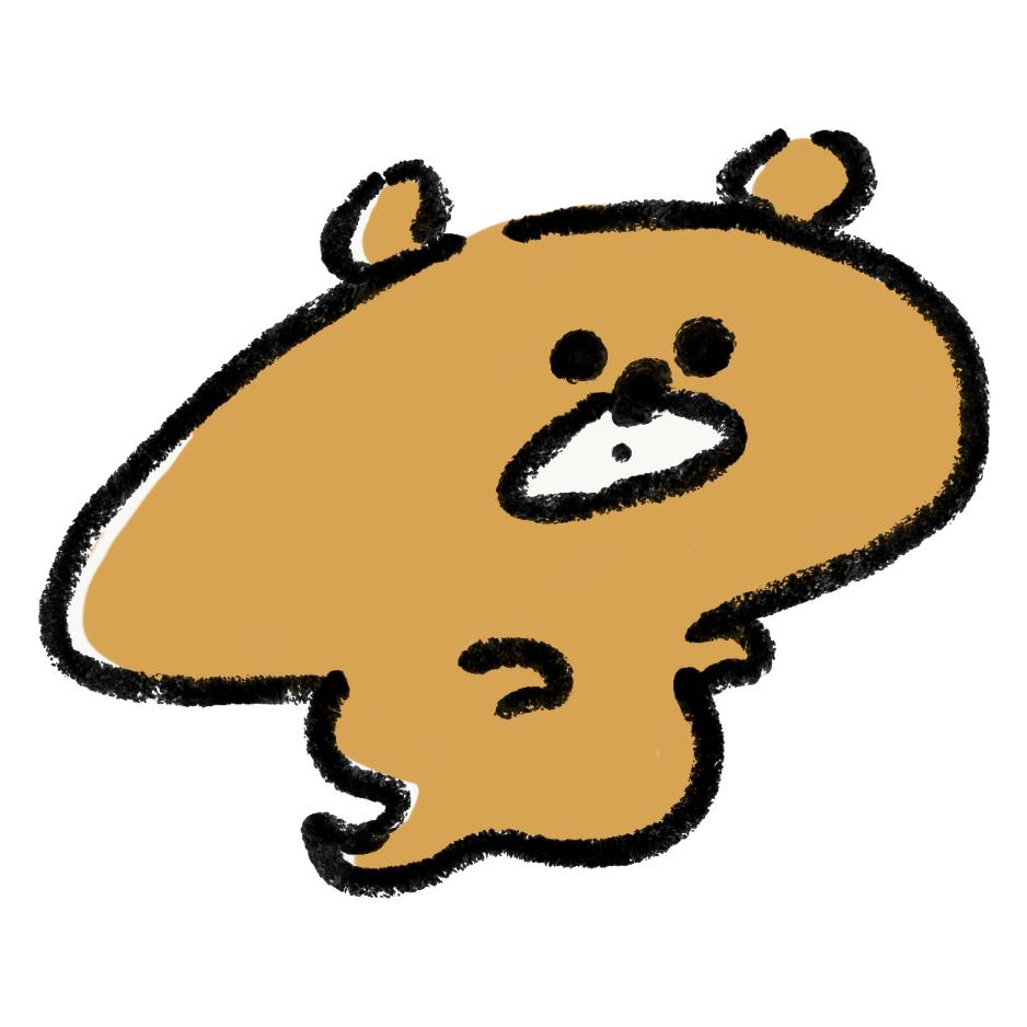 熊のおばけ