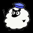 解説する羊