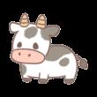 くぅもんせさんが描いた牛