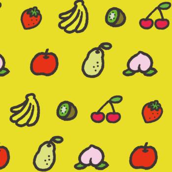 フルーツがいっぱいの背景